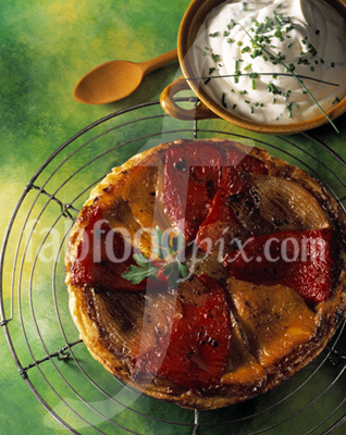 Roast Pepper Tart photo