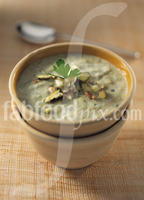 Stilton & Leek soup photo