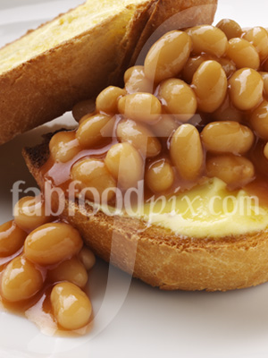 Baked Beans Toast photo