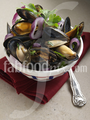 Scottish Mussels photo
