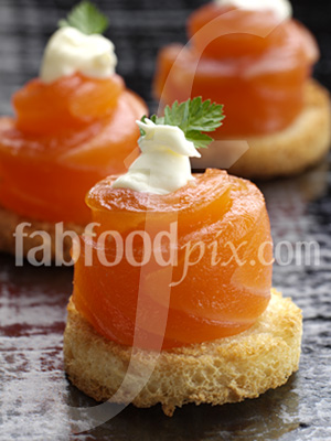 cured salmon photo