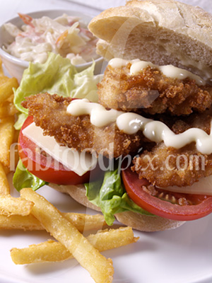 Chicken sandwich photo
