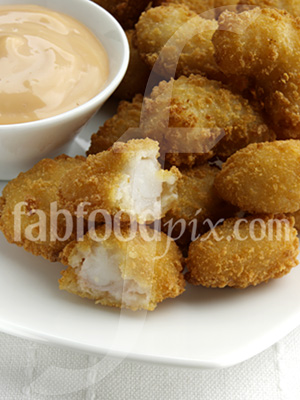 popcorn prawns photo