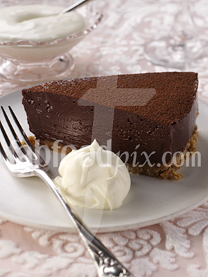 Choc truffle cake photo