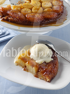 Banana tatin photo