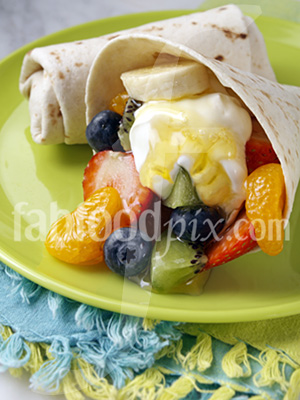 fruit burritos photo