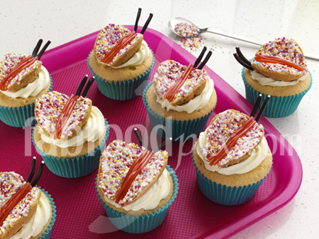 butterfly cakes photo
