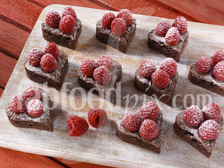 V Day brownies photo