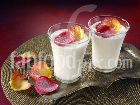 Rose lassi photo