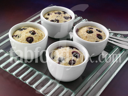 blueberry bread pud photo