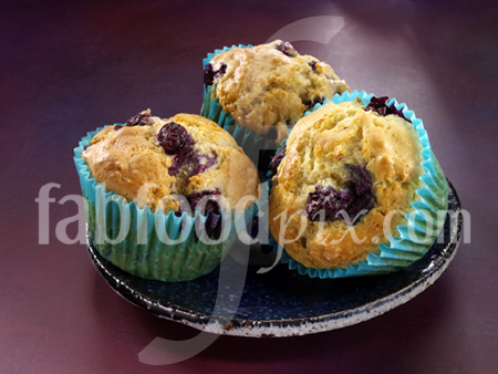 Blueberry muffins photo