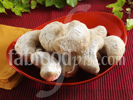 Nut crescents photo