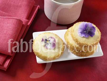 Shortbread cookies photo