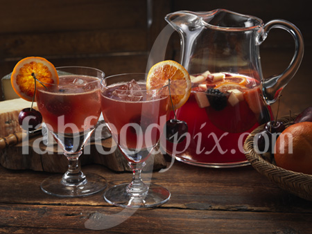 Red sangria photo
