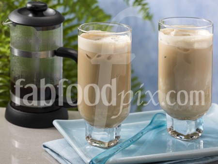 Thai iced coffee photo
