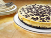 choc chip cheesecake photo