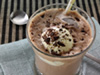 Chocolate smoothie photo