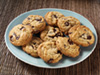 Choc chip cookies photo