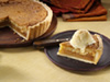 Macadamia nut pie photo