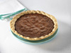 bourbon choc peacan pie photo
