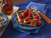 Buckwheat waffles photo