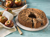 Apple crumble cake photo